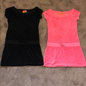 Juicy Terry Cloth Summer Dresses